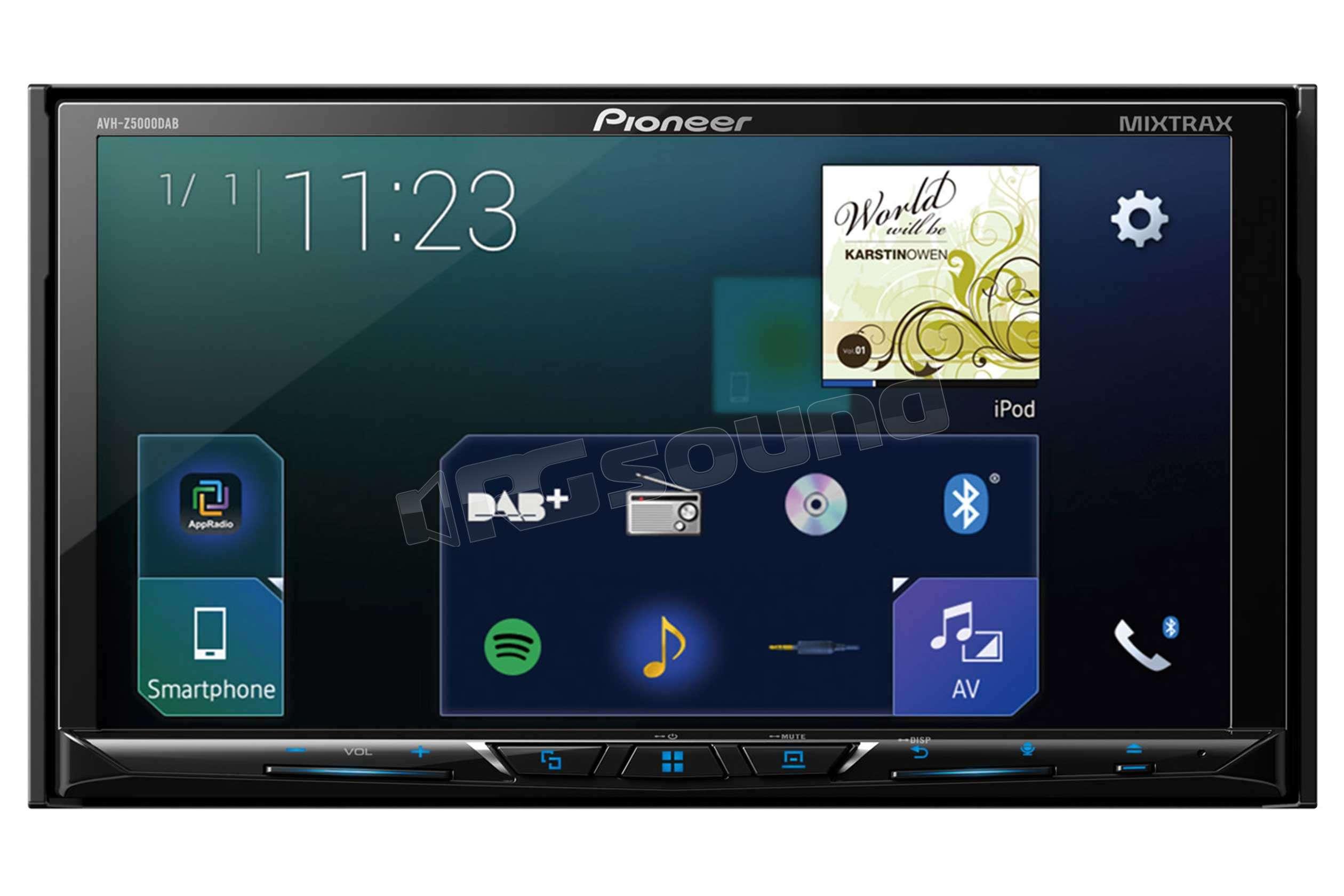 pioneer avh z5000dab monitor 7 con usb bluetooth dab. Black Bedroom Furniture Sets. Home Design Ideas