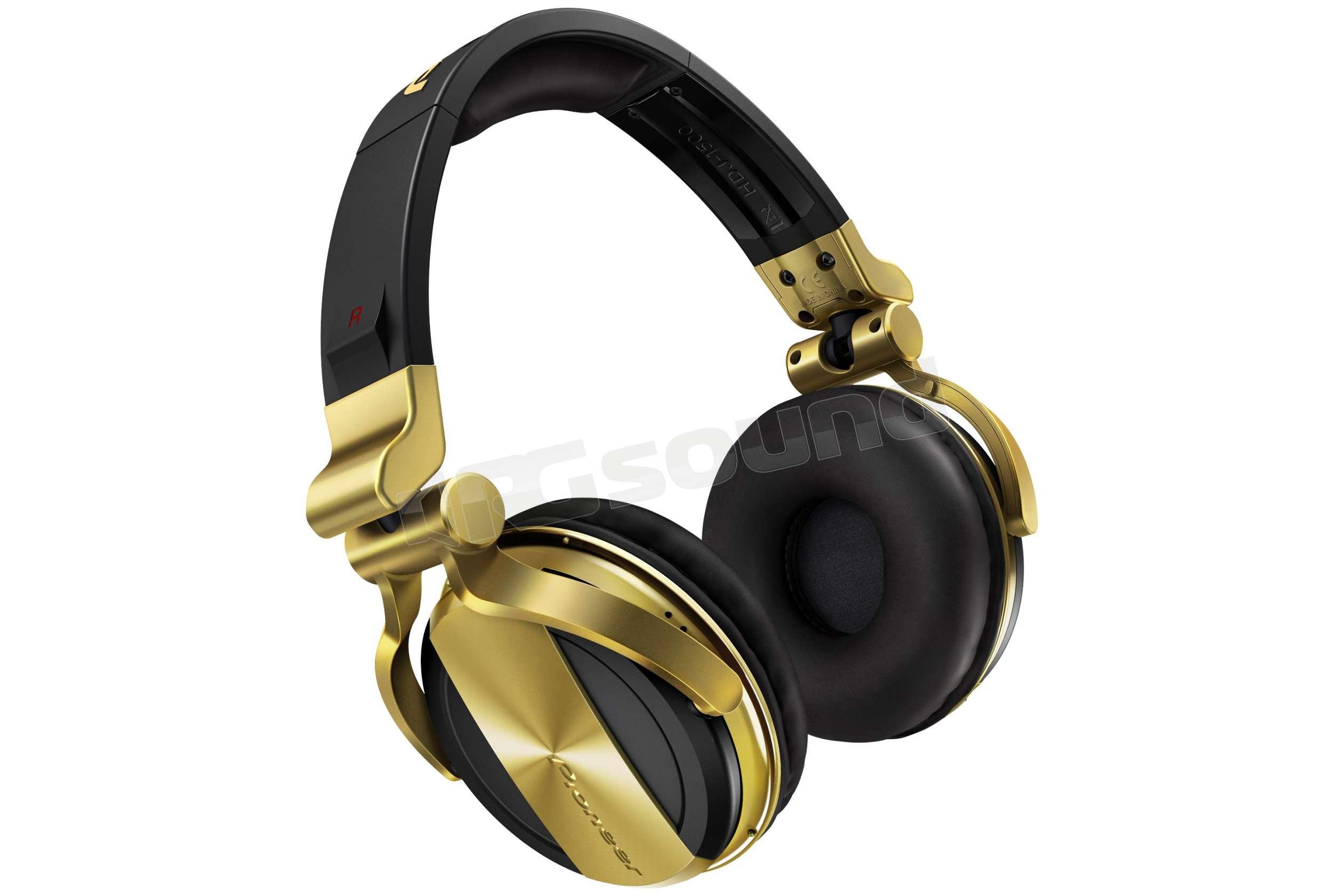 ... cuffie professionali per DJ - Colore nero e oro. Pioneer DJ HDJ-1500-N 4f9a8820e202