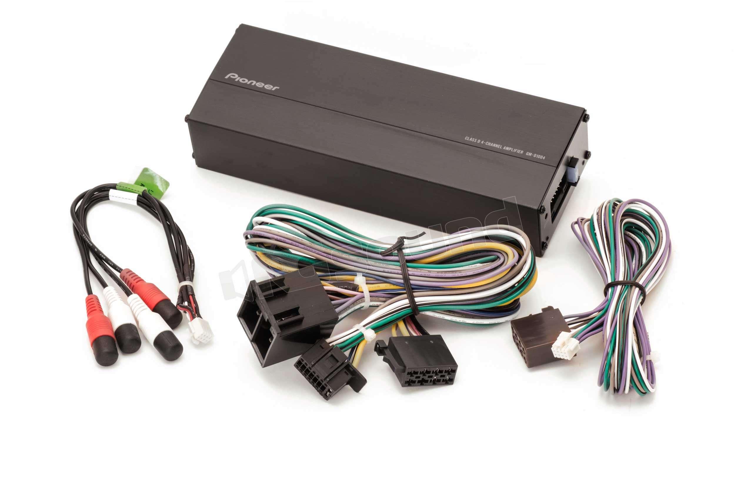 pioneer gm d1004 amplificatori 4 canali rg sound. Black Bedroom Furniture Sets. Home Design Ideas