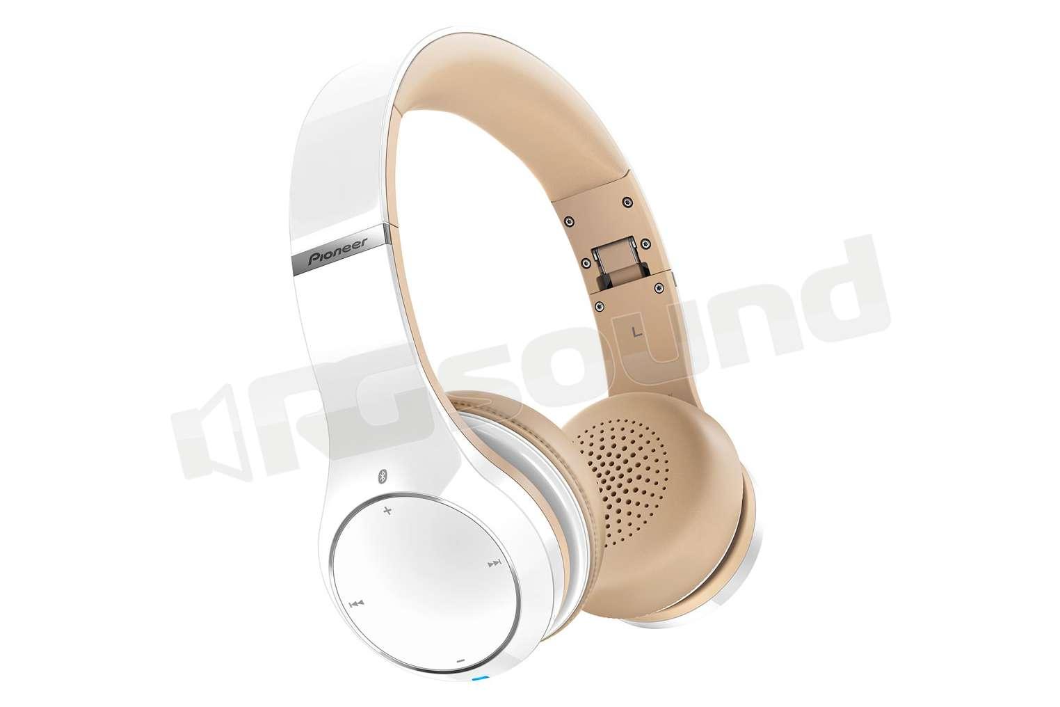 Pioneer SE-MJ771BT-W cuffie Bluetooth NFC finitura bianca e pelle ... a5e6de2530de