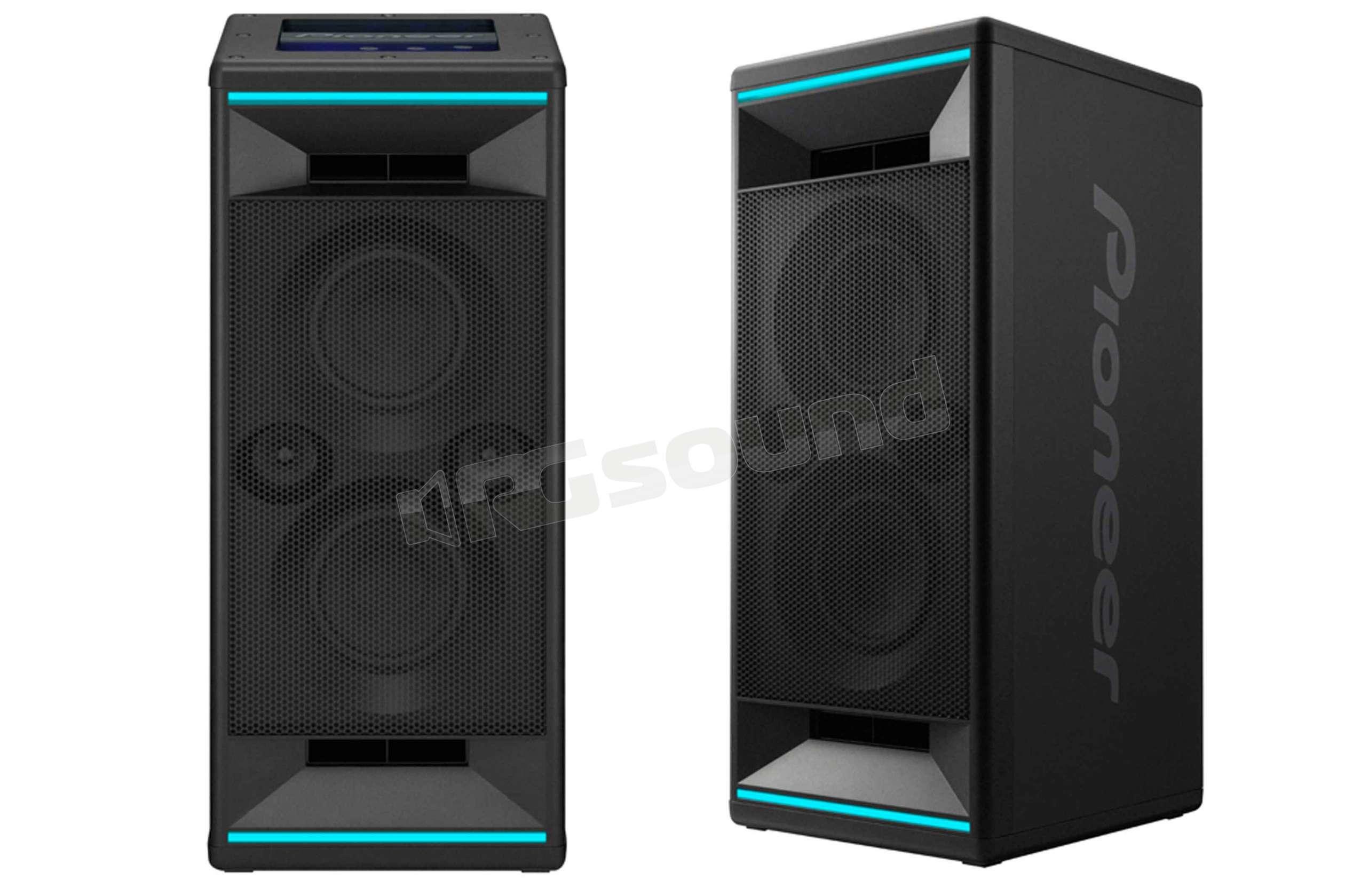 Pioneer xw sx50 b club5 diffusore audio wireless con illuminazione
