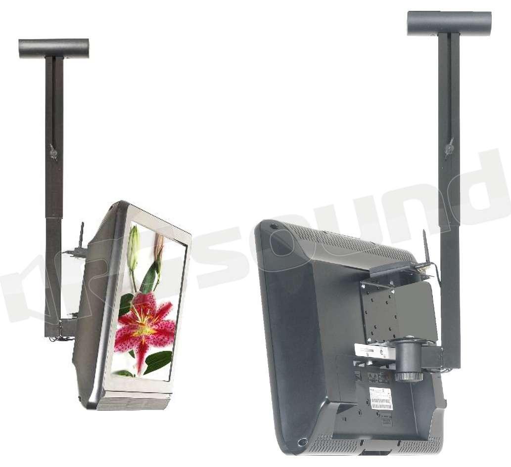 Prandini 504w3 supporto da soffitto per tv lcd led - Porta tv a soffitto ...