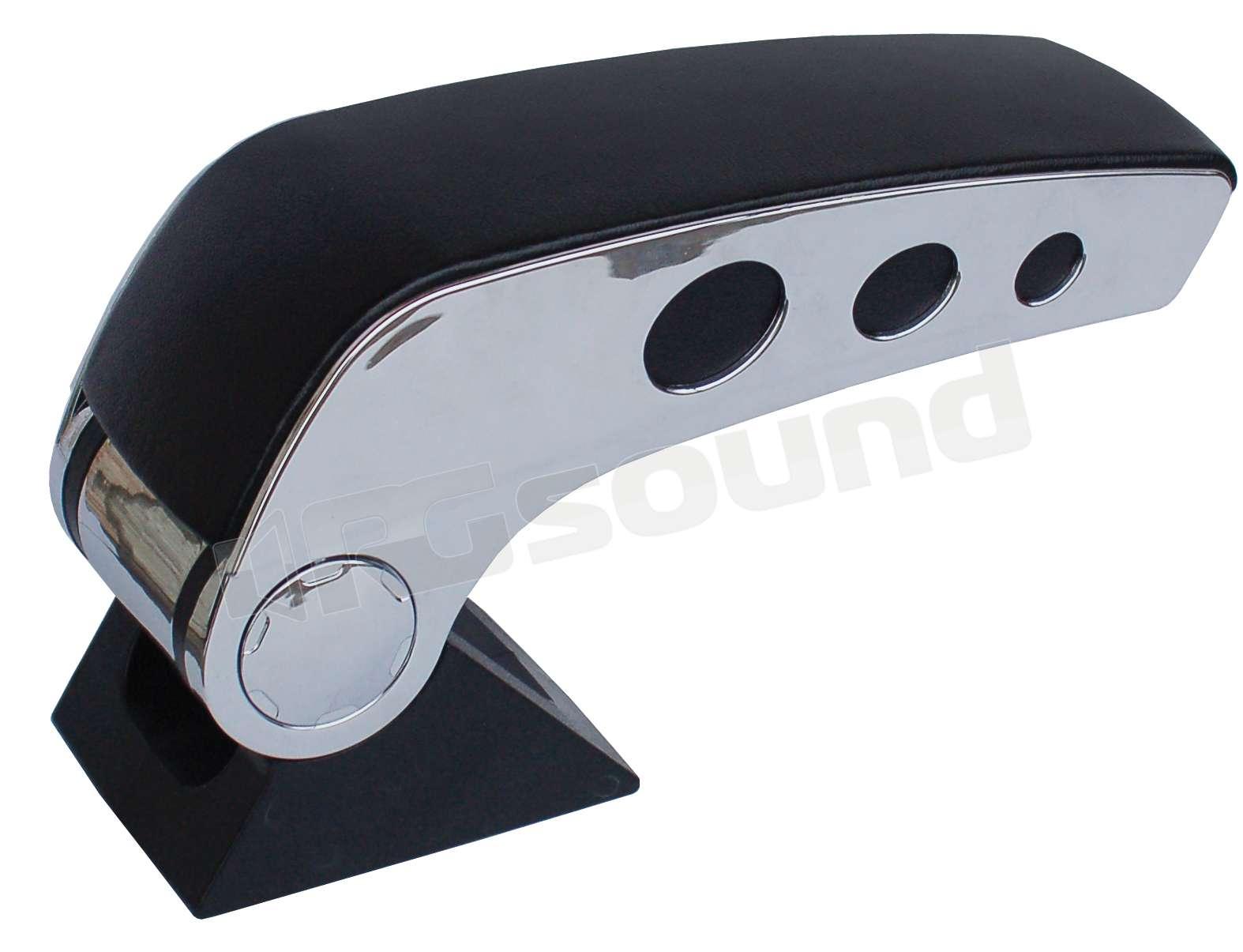 Nero e inserti cromati Simoni Racing DAR//1P Bracciolo Universale Drop