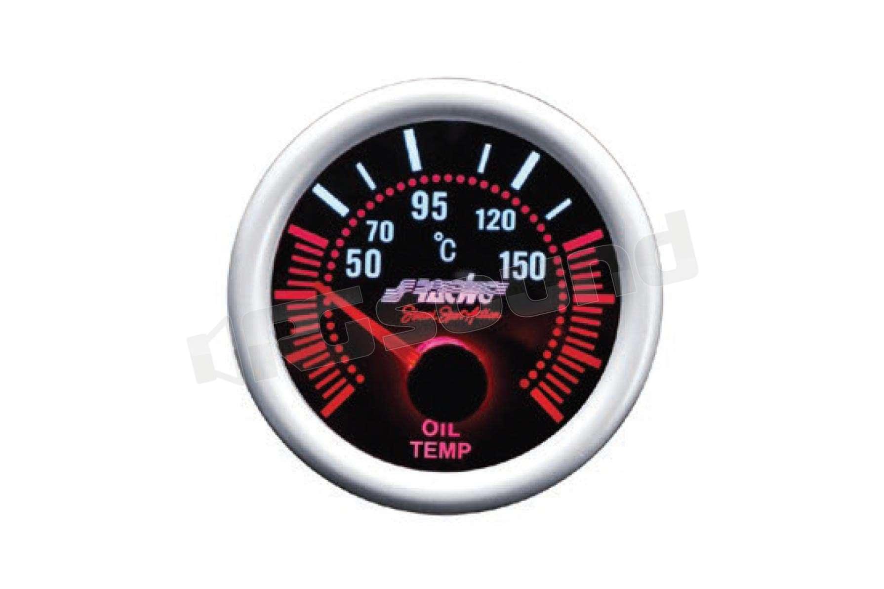 sfondo Nero Simoni Racing OT//A Indicatore Elettrico di Temperatura Olio