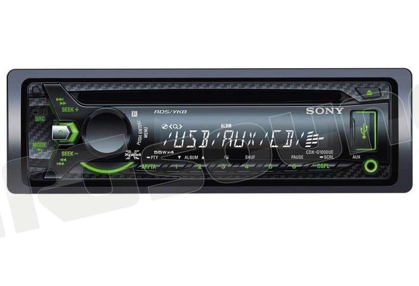 Sony cdx g u autoradio din e din autoradio din rg