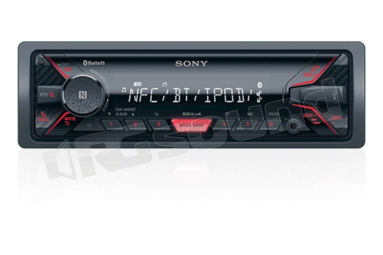 sony dsx a400bt autoradio 1 din e 2 din autoradio 1 din rg sound store. Black Bedroom Furniture Sets. Home Design Ideas