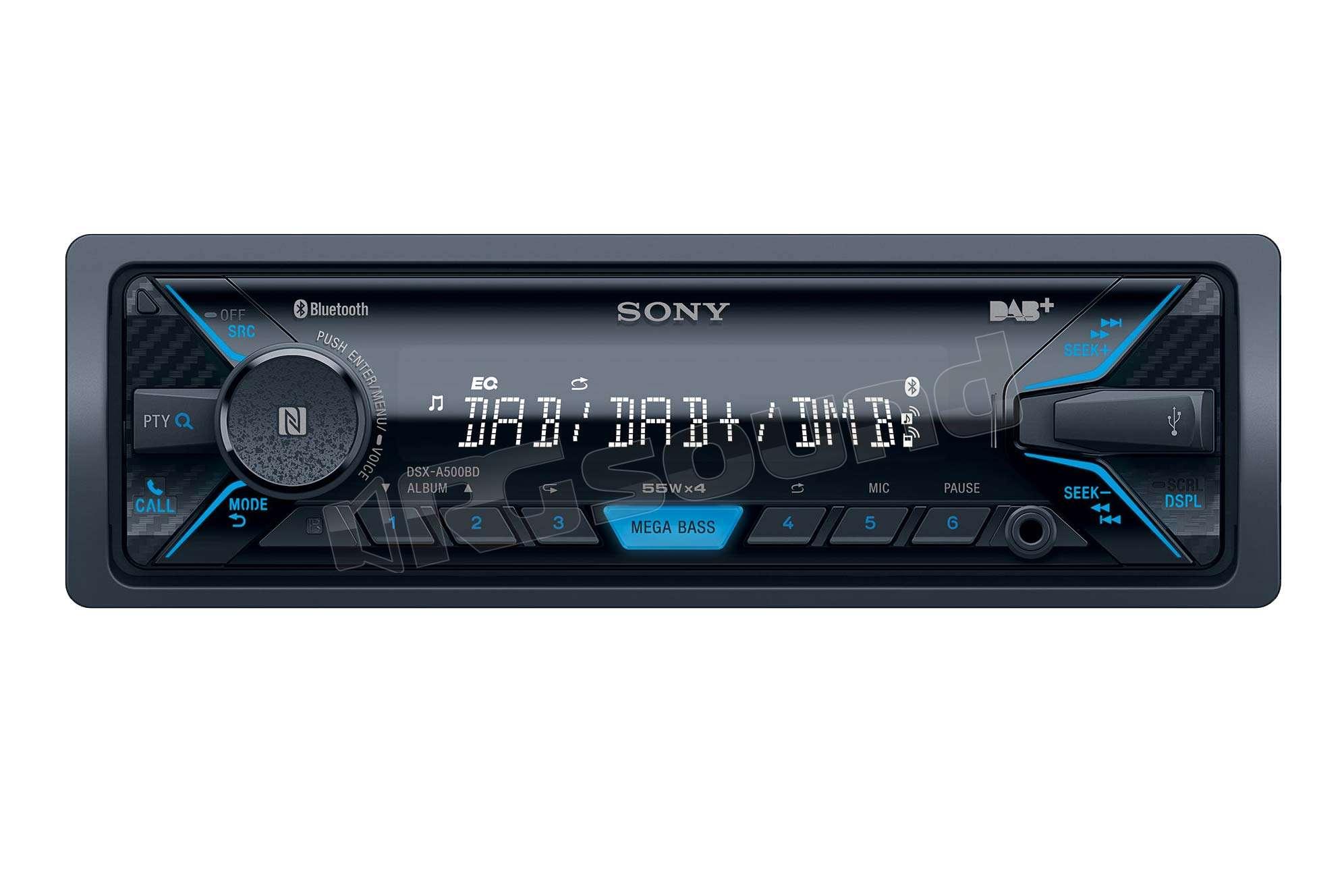 Gps Car Tracker >> Sony DSX-A500BD | Autoradio 1 din e 2 din - Autoradio 1 ...