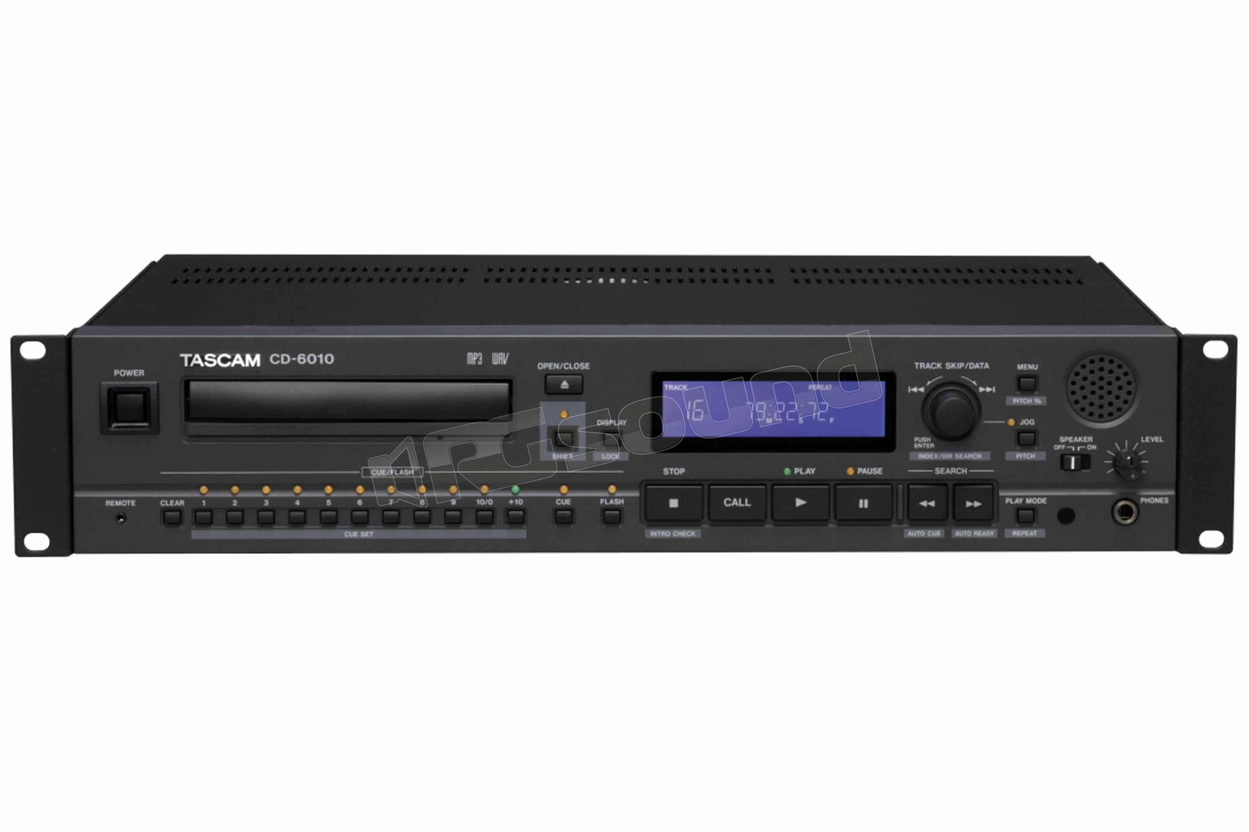 grandi affari sulla moda a basso costo aspetto elegante TASCAM CD-6010 lettore CD professionale con funzioni playback top di gamma  | Diffusori Home e Home Theatre - Lettori Compact Disc