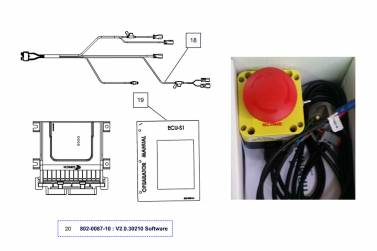 AV Map ECU-S1 Kit K10ASS0Y01