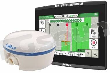 AV Map G7 Ezy Farmnavigator + Turtle Smart GPS/GNSS