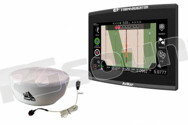 AV Map G7 Plus Farmnavigator + antenna Novatel AG-STAR