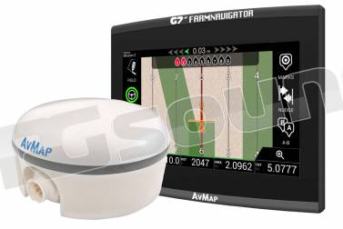 AV Map G7 Plus Farmnavigator + Turtle Smart GPS/GNSS