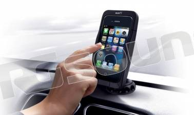 Bury C CRADLE 4 - iPhone 4 - supporto auto con ricarica