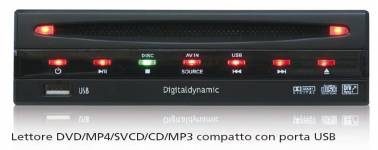 Digitaldynamic DVP-1000M - DVD DivX USB