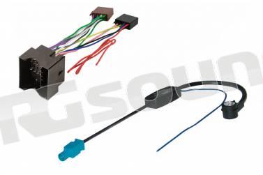 vecchio modello . per Mitsubishi Cavo adattatore autoradio con connettore ISO