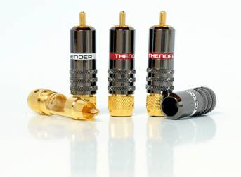 Thender 49-122A connettori RCA hi-end per cavo 10mm