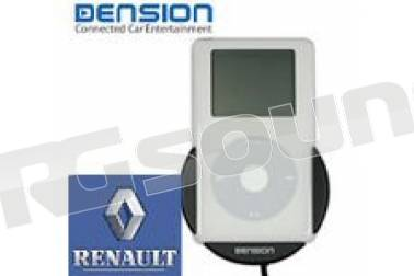 Dension 7137412 Ice Link Plus, Gateway 100, Interfaccia iPod per RENAULT