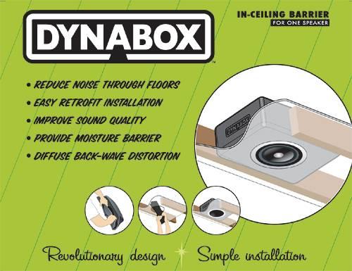 Dynamat DYN50306 Dynabox Box insonorizzato per diffusori da soffitto  Fonoas...