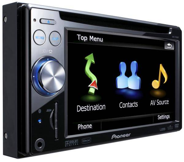 pioneer avic f900bti monitor auto 1 e 2 din car. Black Bedroom Furniture Sets. Home Design Ideas