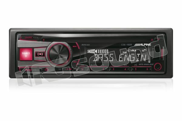 CDE-192R Tuner - CD - USB - doppia illuminazione - compatibile con iPhone 6 / 6 Plus