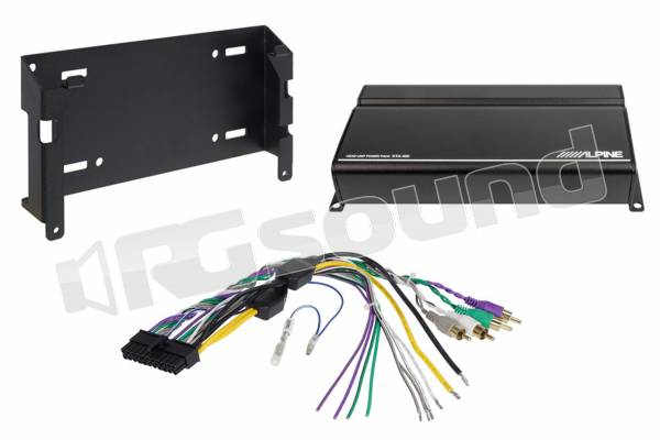 KTA-450 amplificatore compatto per potenziare l'audio delle sorgenti originali e aftermarket