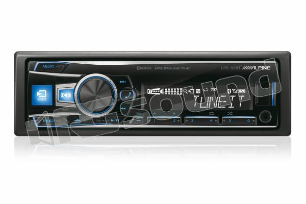 UTE-92BT mecha-less con Bluetooth - USB - Aux-In