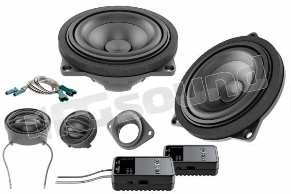 APBMW K4E kit a due vie con woofer 10cm per BMW e Mini