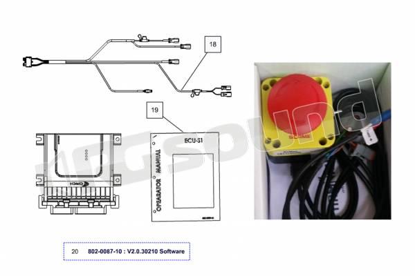 AV Map ECU-S1 Kit K10ASS0Y01