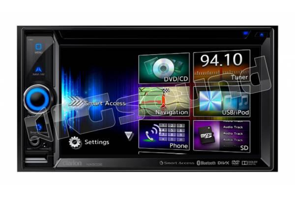 NX503E monitor doppio din con lettore DVD, USB, navigazione europa, bluetooth