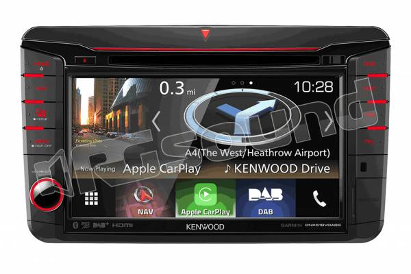 DNX518VDABS navigatore per VW Skoda e Seat con Apple Car PLay e Android Auto