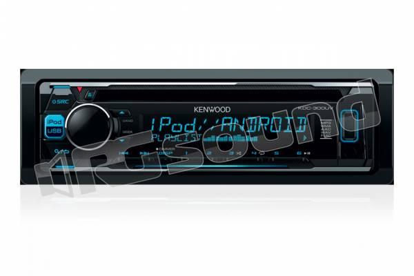 KDC-300UV sintolettore CD con controllo diretto iPod/iPhone