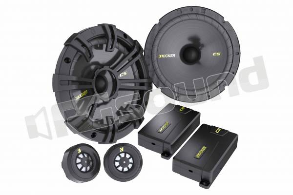 CSS674 sistema a due vie con woofer 165mm, tweeter 20mm, crossover e griglie