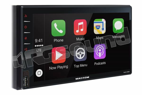 """M-DL7000D display 6,8"""" con Apple CarPlay e Android Auto"""