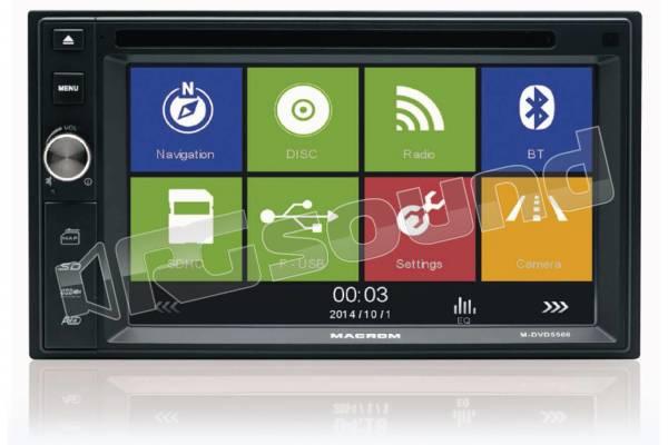M-DVD5566 sistema con navigatore GPS