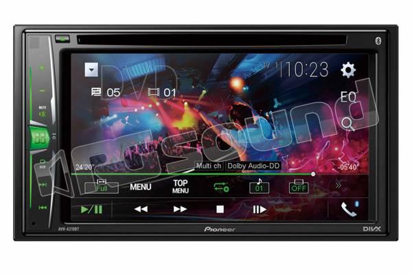 AVH-A210BT con mirroring Android, USB e CD/DVD