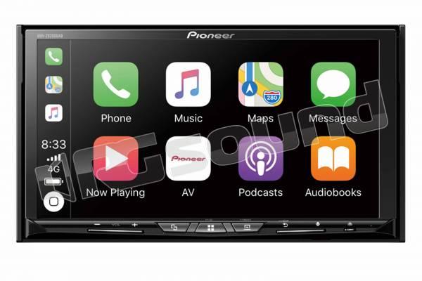 AVH-Z9200DAB monitor 7'' con Apple CarPlay wireless, Android Auto, Bluetooth, tuner DAB+