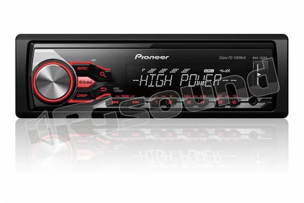 MVH-280FD High Power 4x100W