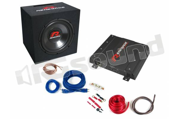 RBK550XL Kit Subwoofer + Amplificatore + Cablaggi