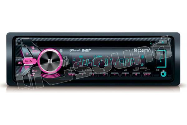 Sony MEX-N6002BD + antenna DAB