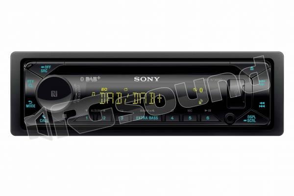 MEX-N7300KIT lettore CD, Bluetooth, tuner DAB+ e antenna inclusa