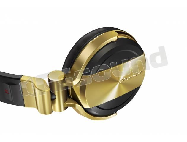 Pioneer DJ HDJ-1500-N cuffie professionali per DJ - Colore nero e oro    RG  Sound Store    4a909d2a9b46