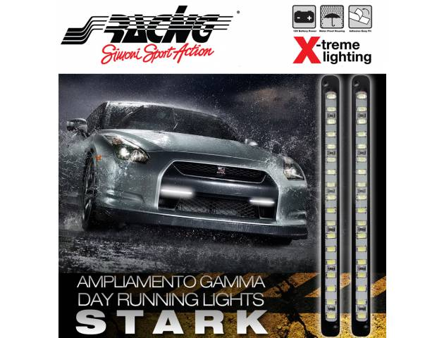 Simoni racing dl w day running lights stark illuminazione