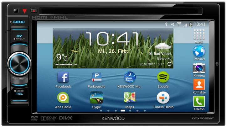 Kenwood DDX5025BT
