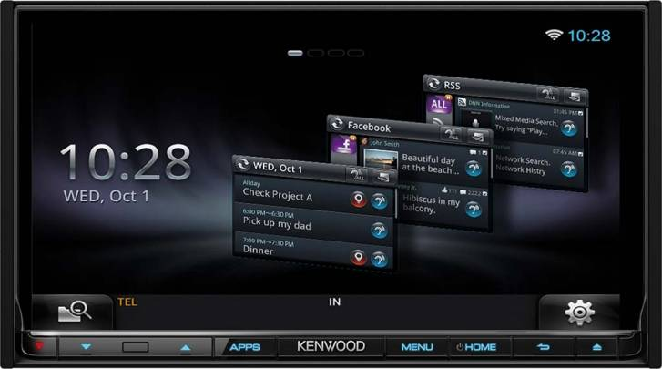 Kenwood DNR8025BT