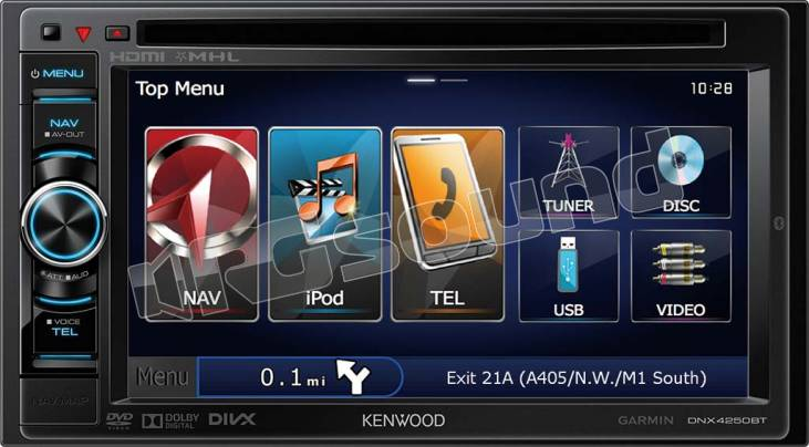 Kenwood DNX4250BT