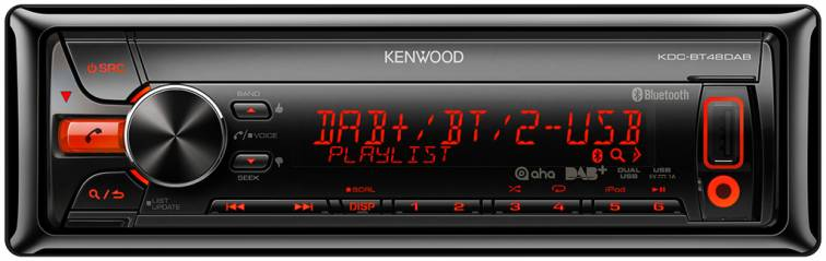 Kenwood KDC-BT48DAB