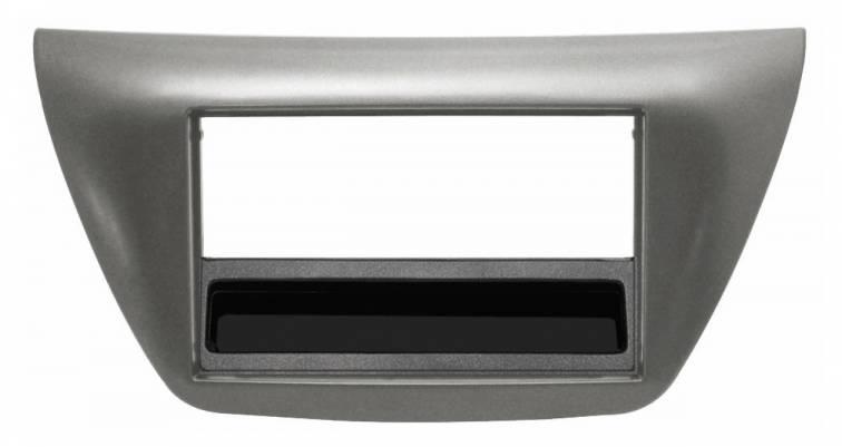 Mascherina con foro Doppio DIN colore grigio OPEL Astra H 04/>10 Antara 06/> Co