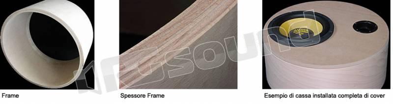 Gladen gladen subframe frame50 15 casse acustiche box for Box subwoofer in vetroresina