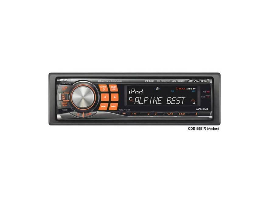 Alpine CDE-9881R | Autoradio 1 din e 2 din - Autoradio 1 Din :: RG ...