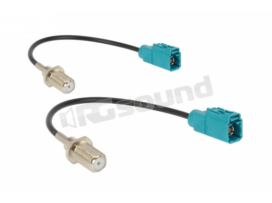 cavo adattatore antenna VOLVO OEM-DIN connettore per Volvo S40 V70 S80 V40